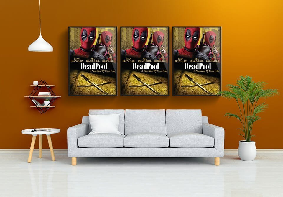 Deadpool Poster Design Portfolio
