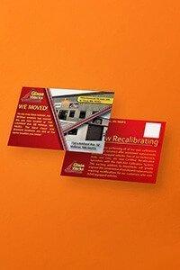 Post Card Design Mockup